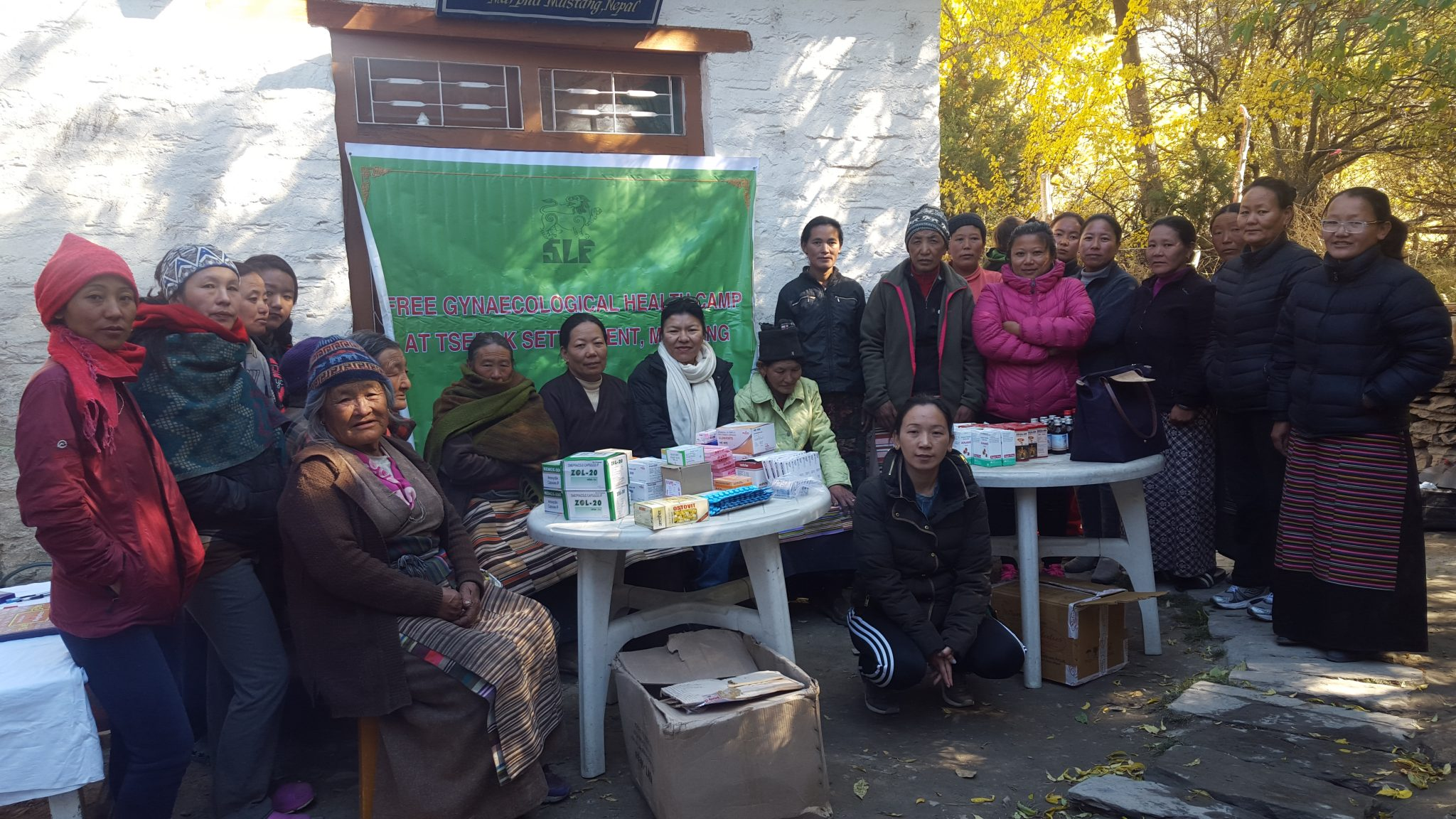 health camp at Tserok